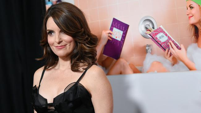 Power player ... Tina Fey at the premiere of Sisters at the Ziegfeld Theatre in New York.