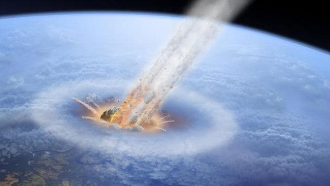 An asteroid impact is probably the most likely of all, just not in our time.