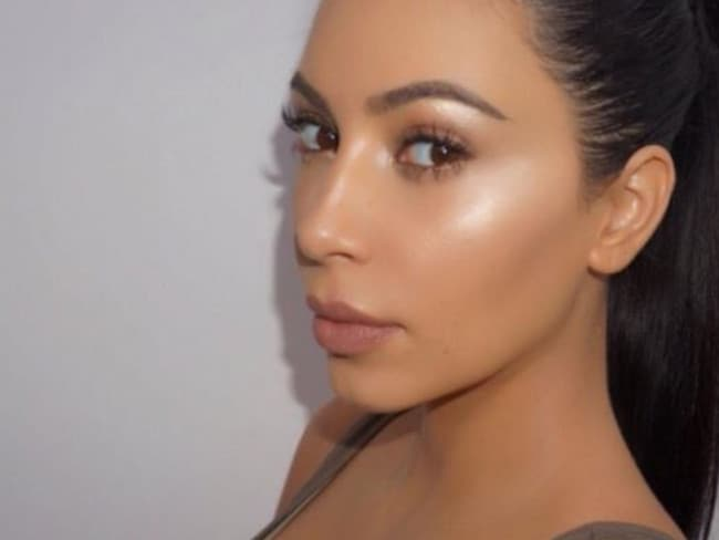 Kim Kardashian's version of 'strobing' takes a lot more work. Picture: Instagram