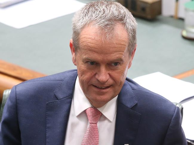 Opposition Leader Bill Shorten has displayed 'scorched earth tactics' in the citizenship crisis. Picture: Kym Smith