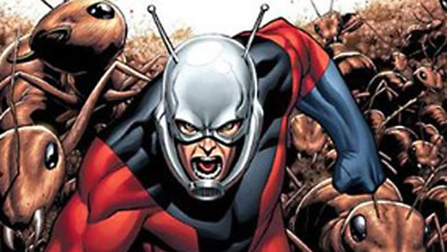 Angry little Avenger Ant-Man is having trouble going big-screen.
