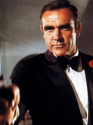 Sean Connery as Bond.