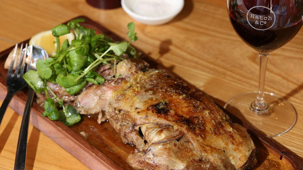 Review hatch co broadbeach daily telegraph for Lamb jus