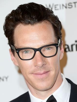 Adorable ... English actor Benedict Cumberbatch. Picture: Frederick M. Brown/Getty Images/AFP