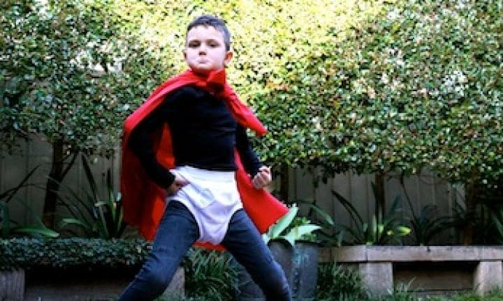 Easy costume: Captain Underpants