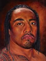 Fuifui Moimoi, rugby league player, by Nicolee Payne