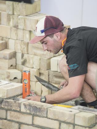 Trystan Sammut in action. Picture: WorldSkills International