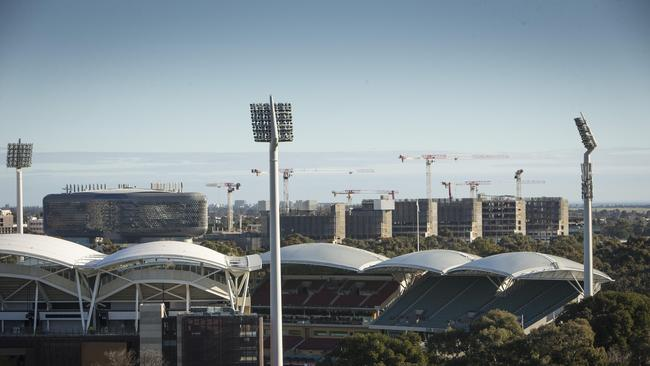The iconic Adelaide Oval.
