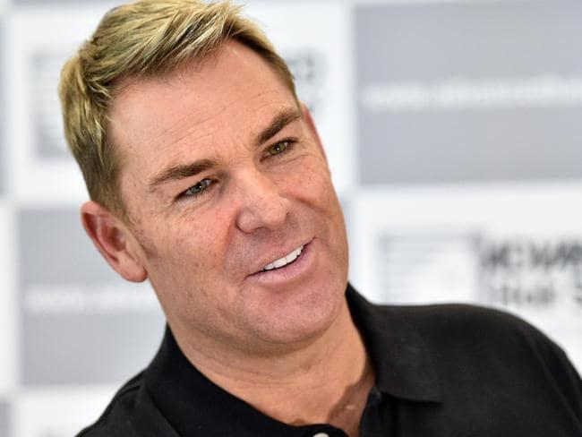 Advanced Hair Studio promotes its treatments using celebrity ambassadors like Shane Warne. Picture: Julian Smith/AAP