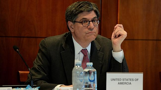 Action needed ... US Secretary of the Treasury Jack Lew at the Joint G20 and B20 Infrastr