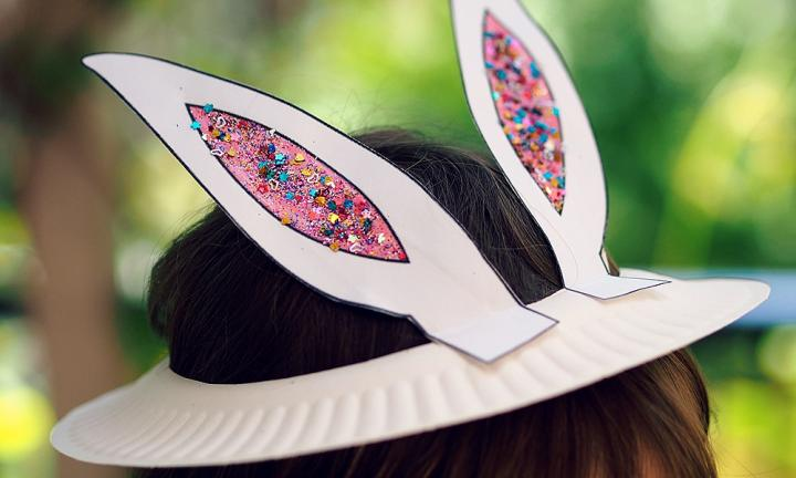 Easter Bunny bonnet: Print and make your own