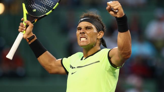 sport tennis rafael nadal wins tour level match