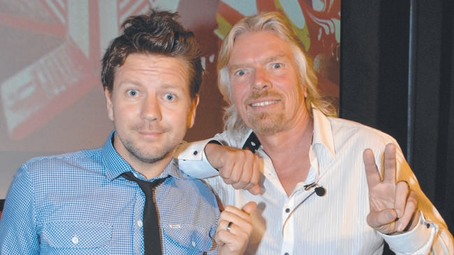 Sir Richard Branson. Now there's a cool boss.