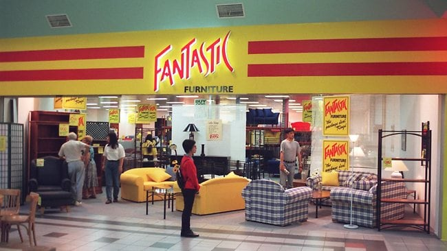 p25   Interior of Fantastic furniture store at Moore Park  Super Centa   logo foreground  Logos   Business New South Wales  NSW    Shopping   Shops  Picture. Local manufacturing survives in certain areas