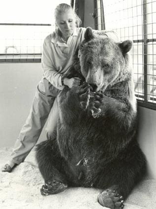 """Cried for two years after he died"" ... Maggie Robin with Hercules. Picture: Supplied"