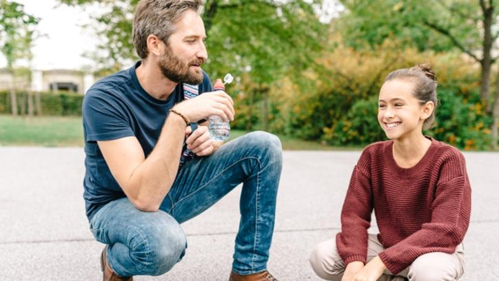 There might be the odd slammed door or angry silence, but it's worth dads working on their bonds with their teenage girls. (Pic: iStock)