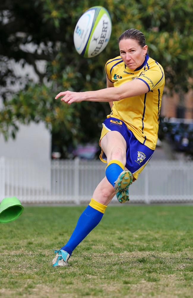 Ash Hewson said the lead-up match was an eye-opener for the teams newbies.