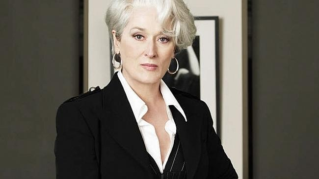 Actor Meryl Streep's character in the 2006 film The Devil Wears Prada is in the villainous category and the person we want to avoid at work.