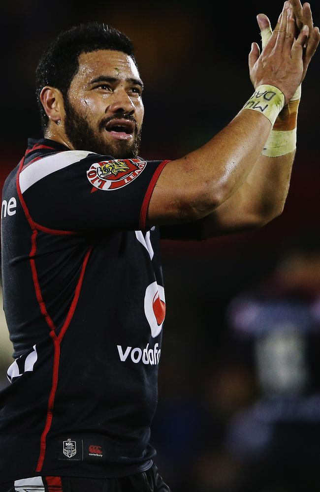 Konrad Hurrell has been the Warriors' X-factor this season. Pic: Hannah Peters/Getty Images