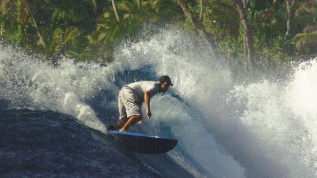 Brian White surfing. Picture: supplied.