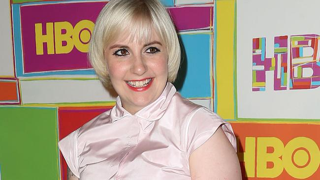 Lena Dunham was not happy with Ricky Gervais' comments.