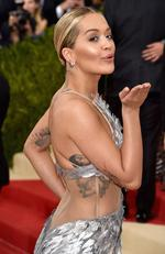 """Rita Ora attends the """"Manus x Machina: Fashion In An Age Of Technology"""" Costume Institute Gala at Metropolitan Museum of Art on May 2, 2016 in New York City. Picture: Getty"""