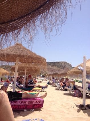 Holiday-makers have begun streaming into Praia da Luz for the busy summer season.