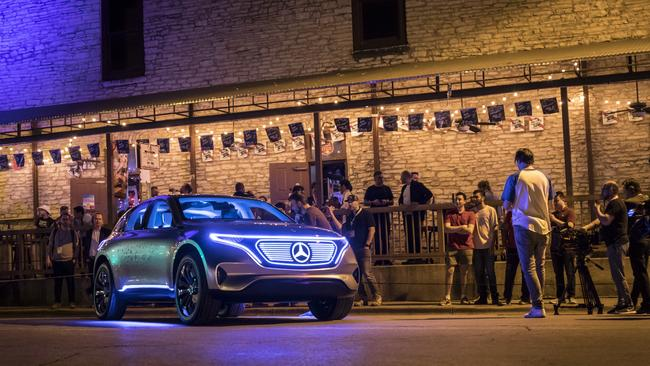 Mercedes-Benz plans to launch an electric SUV and hatchback. Pic: Supplied.