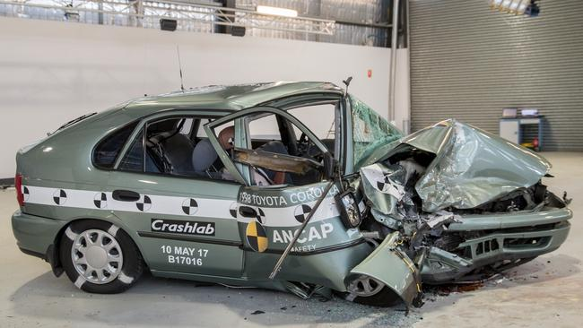 Death trap: Older vehicles are over-represented in fatal accidents. Picture: Supplied.