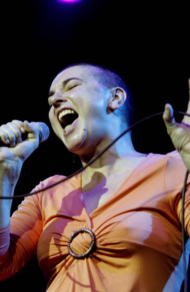 Sinead O'Connor was diagnosed with bipolar disorder in 2003.