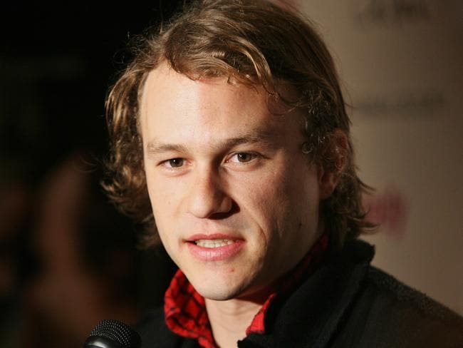 Too soon ... Actor Heath Ledger, seen at the premiere of his Aussie film 'Candy' in New York in 2006.