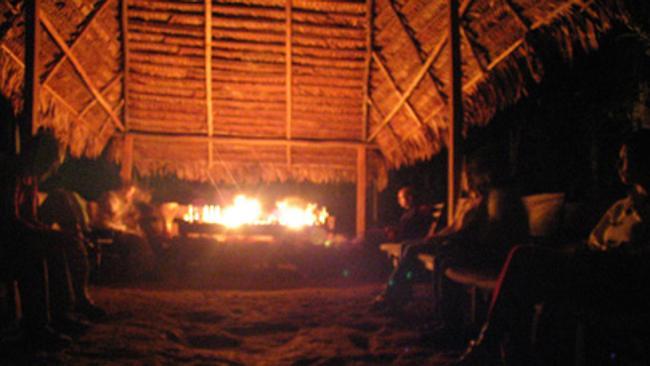 An ayahuasca ceremony in Peru. Image: courtesy of aya-awakenings.com