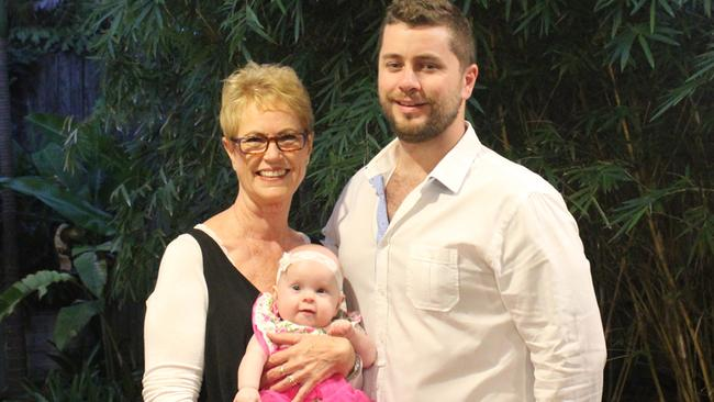 Kate Vines is celebrating mother's day with her son Paul and granddaughter Clare.