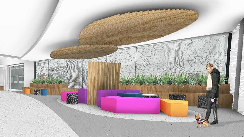 An artist's impression of Beau's Pet Hotel which is to be built at the Adelaide Airport.