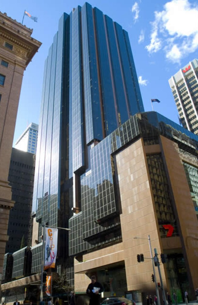 Potential attack: Martin Place in Sydney.