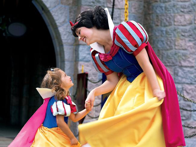 Snow White is a crowd favourite.