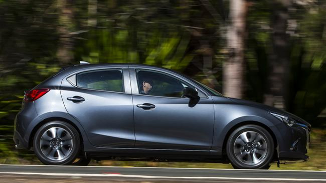 The Mazda2 Genki is not the cheapest, but at least metallic paint is free on all but one colour. Photo: Supplied.
