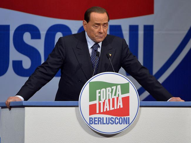 Italy is, after all, the country who kept re-electing this man to power despite sex and corruption scandals.