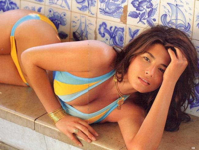 Jessica Gomes pictured in the 2010 Sports Illustrated Swimsuit Issue.