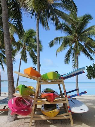 In Aitutaki, it's tempting to do very little, but there are activities on offer for eager visitors.