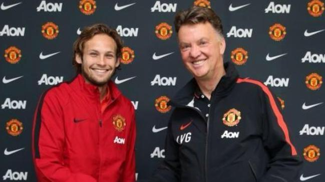 Daley Blind has landed at Old Trafford.
