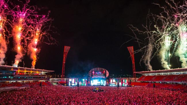 Stereosonic, which featured DJ Armin van Buuren, was held on Saturday at Sydney's Olympic Park. Source: Facebook