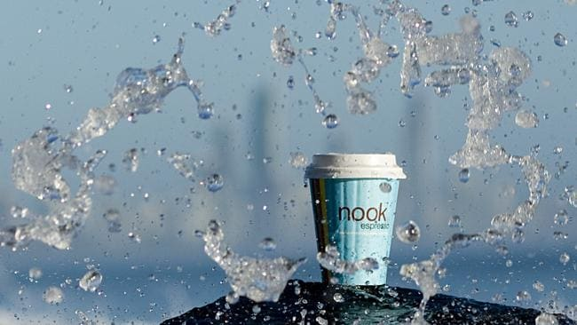 Photos of Nook Espresso coffee at Burleigh Heads. Picture: Pieter Aalberts.