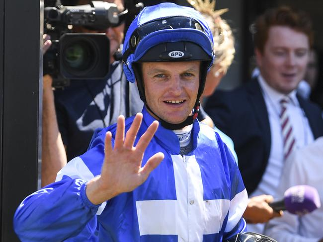 Richard Bensley is confident O'So Tempting can win three in a row. Picture: AAP