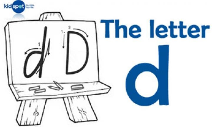 Handwriting: The letter d