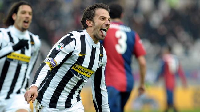 Juventus legend Alessandro Del Piero comes up against his old club for the first time.