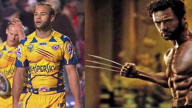 Brett Stewart and Hugh Jackman - but which one is which?