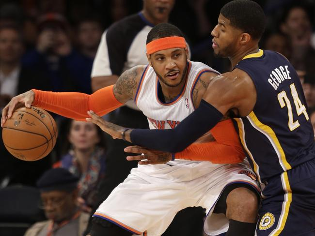Carmelo Anthony is a high-profile target of the Heat.