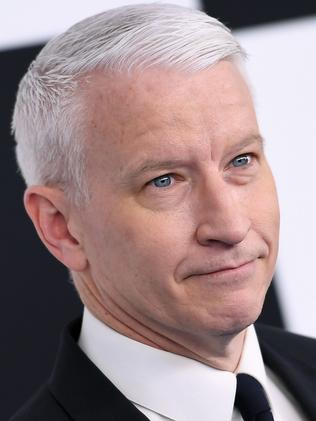 Anderson Cooper attacked his friend, Kathy Griffin. Picture: AFP