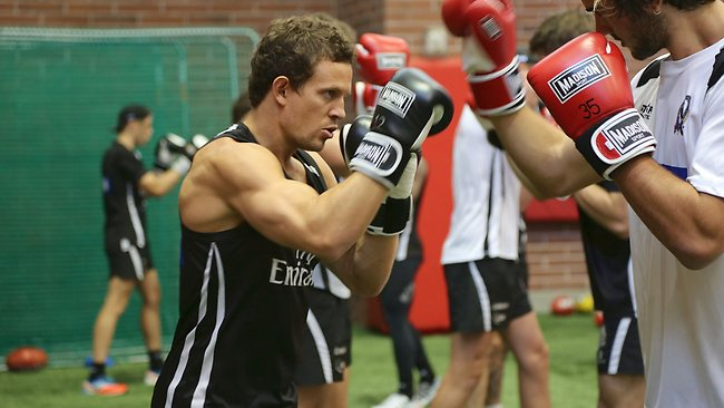 Luke Ball has taken the slow road back to full fitness in a bid to be ready for the 2013 AFL season.